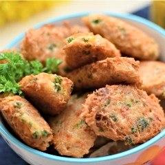 Receta para preparar buñuelos (croquetas) de ocumo