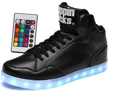 Poppinkicks Light Up Shoes With Remote Control