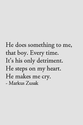 heartbreak quotes by markus zusak