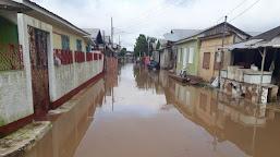 Rio Tarauacá ultrapassa cota de transbordo