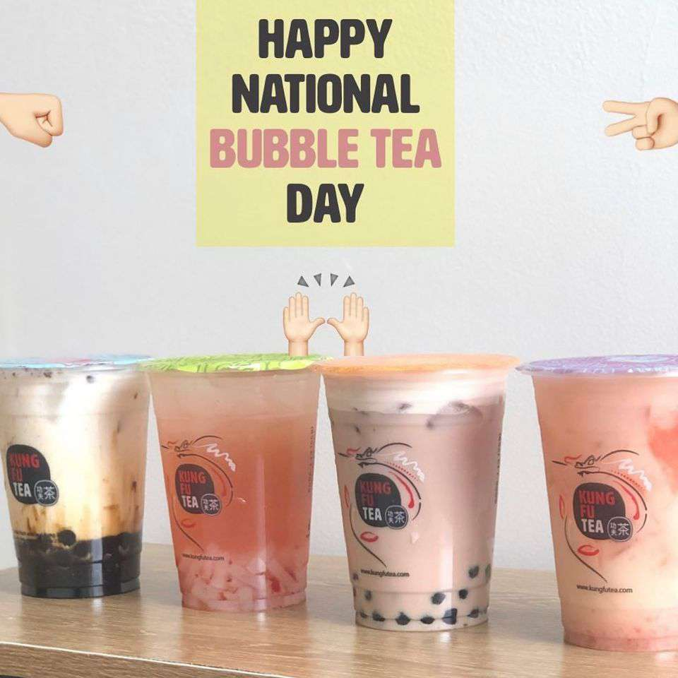 National Bubble Tea Day Wishes for Instagram