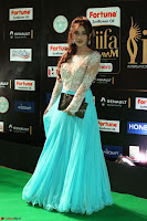 Telugu Actress Angela Krislinzki in transparent top at IIFA Awards 2017 Exclusive 13.JPG