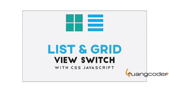 Membuat Tampilan List View Dan Grid View