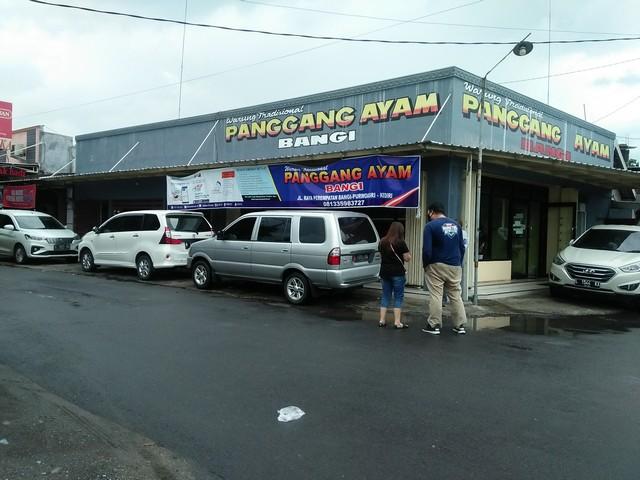 """Lokasi tempat kuliner """"Ayam Panggang Bangi"""""""