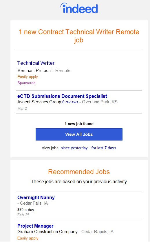 Technical writer remote