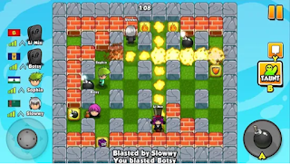 Pertemuan kali ini admin akan share permainan yang seru dan pastinya sudah tak asing la Bomber Friends Apk Mod v3.20 Unlimited Money Free for android