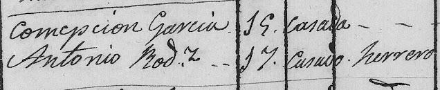 Padrones de Triana, 1838
