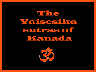 The Vaisesika sutras by Kanada