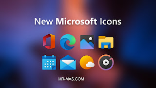 new microsoft icons in windows 10 may 2020