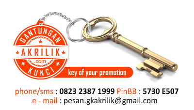cara membuat gantungan kunci sablon nama dari akrilik yang awet dan murah, harga gantungan kunci sablon hotel dari bahan akrilik yang kuat berkualitas, bisa hubungi gantungan kunci sablon akrilik BANK untuk cinderamata murah