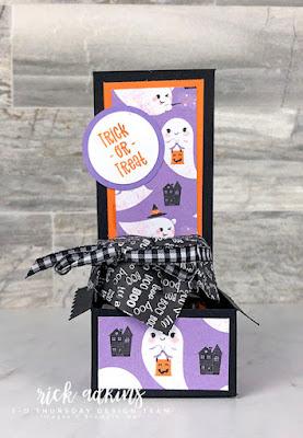 Cutest Halloween Mini Jam Jar Treat Holder by Rick Adkins