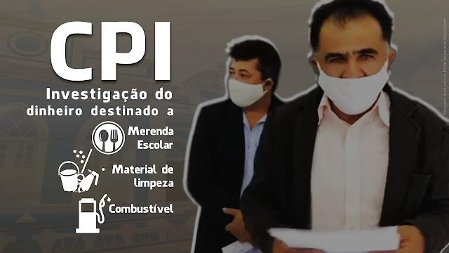 CPI investigará gastos da Prefeitura de Panelas com merenda escolar e combustível