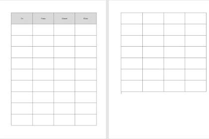 Cara Mengulang Judul Tabel (Header Table) Setiap Ganti Halaman di Microsoft Word
