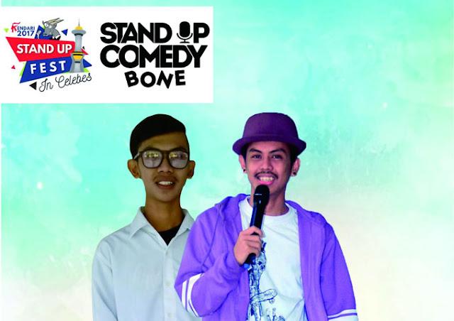 Aan dan Arman Wakili Bone di Ajang Stand Up Comedy di Kendari