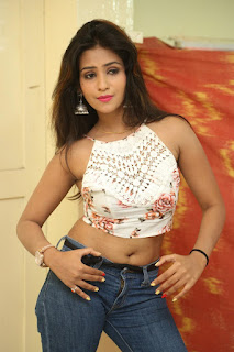 Deekshita Parvathi in a short crop top and Denim Jeans Spicy Pics Beautiful Actress Deekshita Parvathi January 2017 CelebxNext (79).JPG