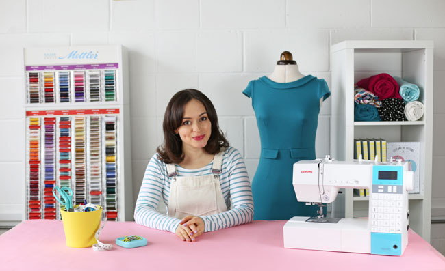 Sew Your Own Knockout Dress - online workshop from Tilly and the Buttons