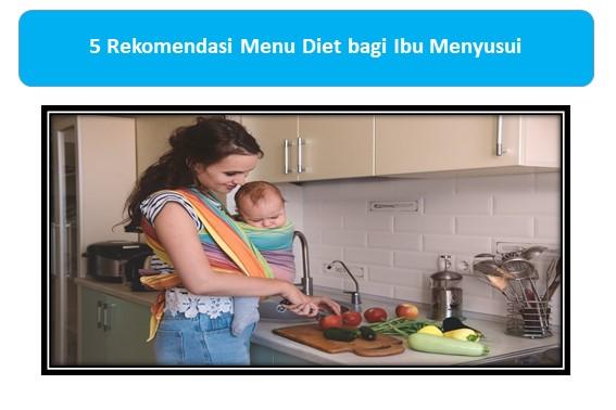 Menu Diet Ibu Menyusui
