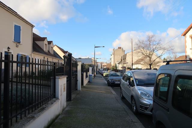 rue Camille Dramart au Bourget