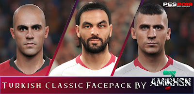 PES 2019 Turkish Classic Facepack by Amir.Hsn7