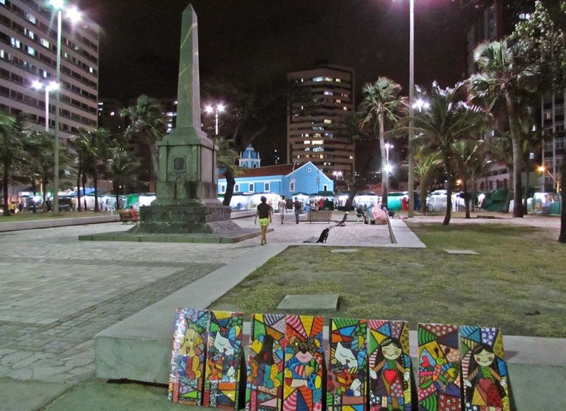 Feirinha de artesanatos de Boa Viagem - Recife