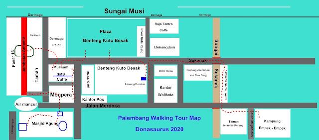peta wisata palembang