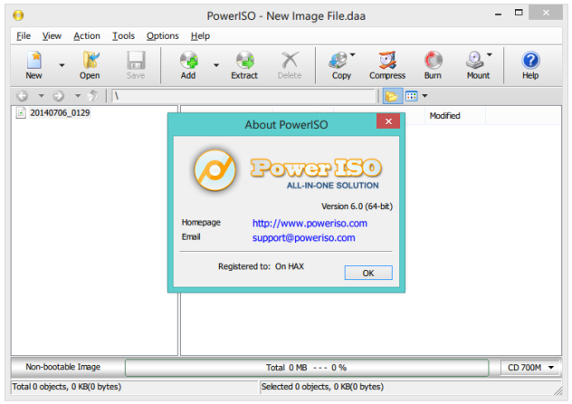 PowerISO 7.1 Final Full Version 2018 Terbaru
