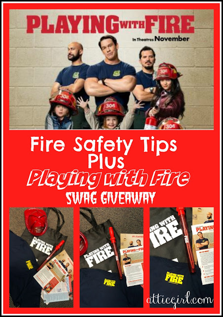 Playing With Fire Giveaway Share Your Fire Safety Tips