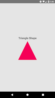 How to Create Custom Triangle Shape View in React Native