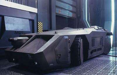 Colonial Marines Vehicles