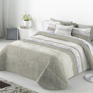 Colcha Bouti modelo Aranda color Beige de Antilo Textil