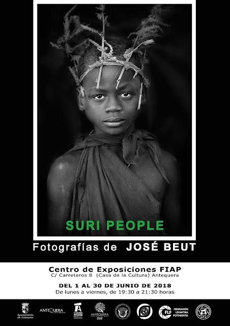 Exposición de fotografías de José Beut en Antequera