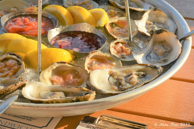 Boca Oyster Bar Oysters and Clams