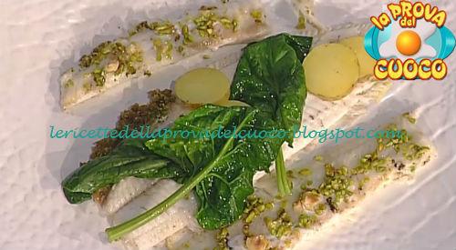 Sogliola al burro di alghe spinaci e profumo di limoni ricetta Pascucci da Prova del Cuoco