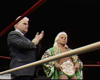 WCW / NWA Starrcade 1988 - True Gritt - Ric Flair and JJ Dillon