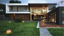 Futuristic Lake House With Square Design Alexander