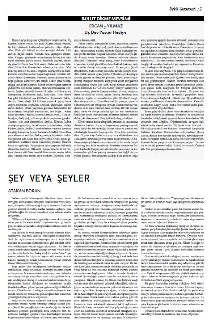 Öykü Gazetesi 32.Sayı Sayfa 5