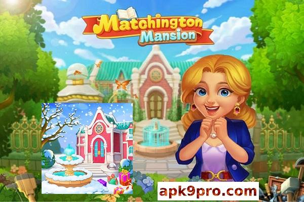 Matchington Mansion v1.70.0 Apk + Mod + Data (File size 141 MB) for android