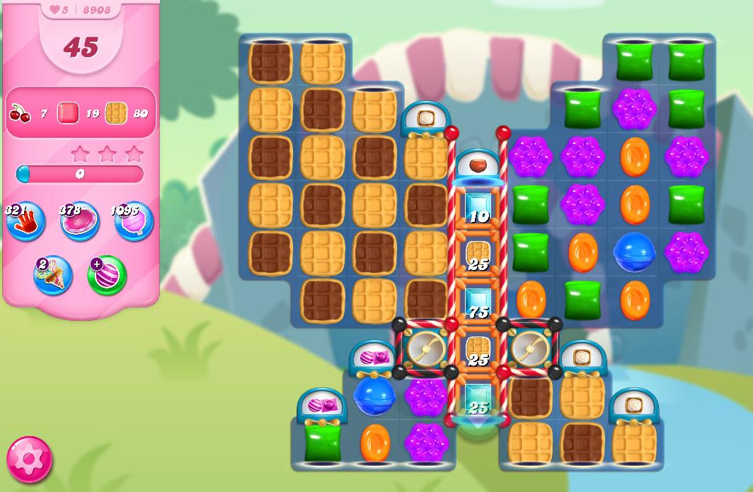 Candy Crush Saga level 8908