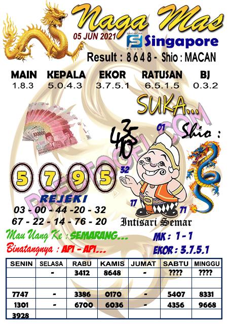 Syair Nagamas SGP sabtu 05 juni 2021