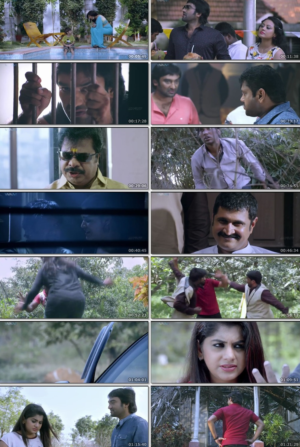 Screen Shot Of Tollywood Movie Nermugam 2019 Full Movie In Hindi Dubbed Free download 720P HD