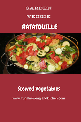 Stewed Vegetable Ratatouille Casserole