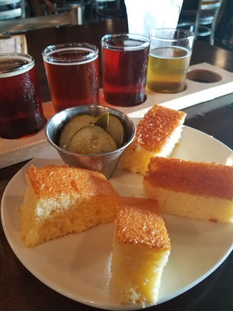 corn bread, Rivertown Brewery