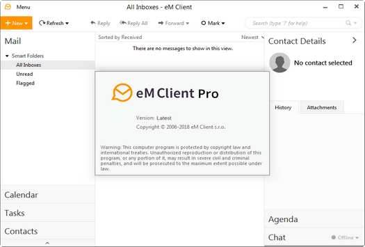 Screenshot eM Client Pro 7.2.38715.0 Full Version