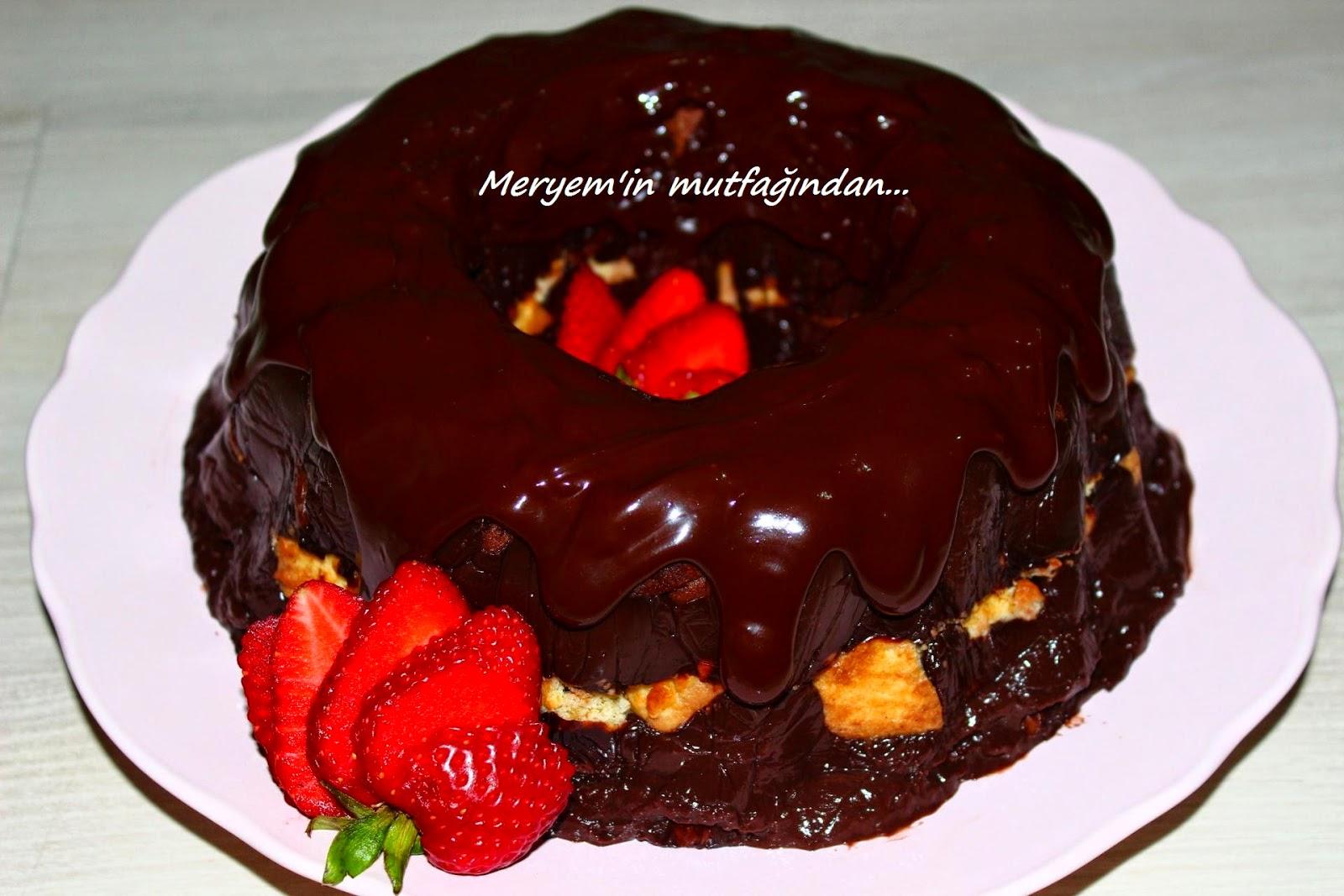 Kek Kalıbında pasta
