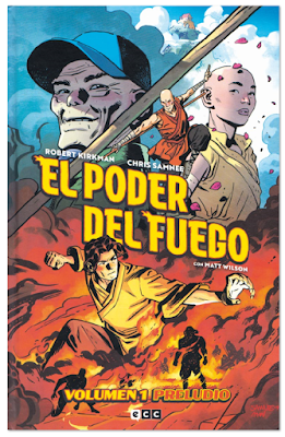 El poder del fuego comic de Kirkman y Samnee - Volumen 1 preludio edita ECC