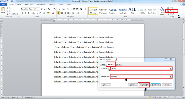 Cara Cepat Mengganti Semua Kata Tertentu di Microsoft Word