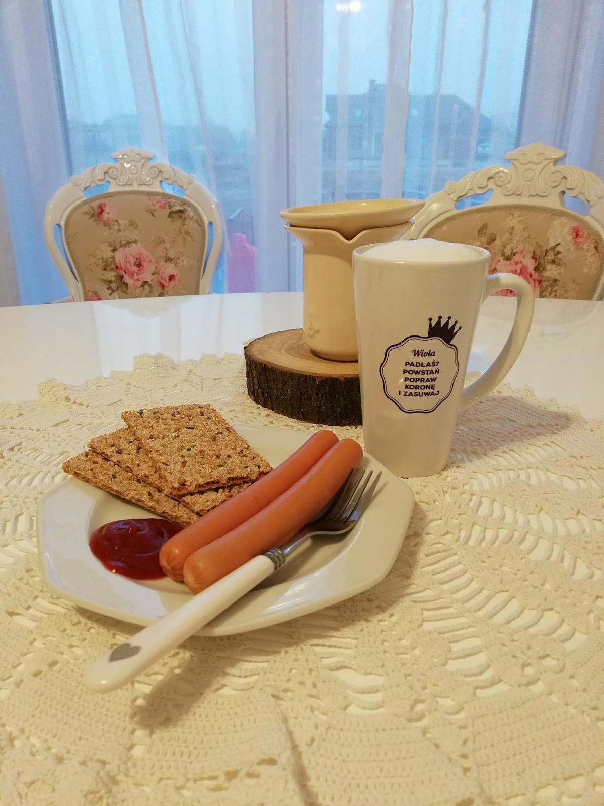 parówka na śniadanie
