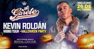Concierto de KEVIN ROLDÁN + Fiesta de Halloween