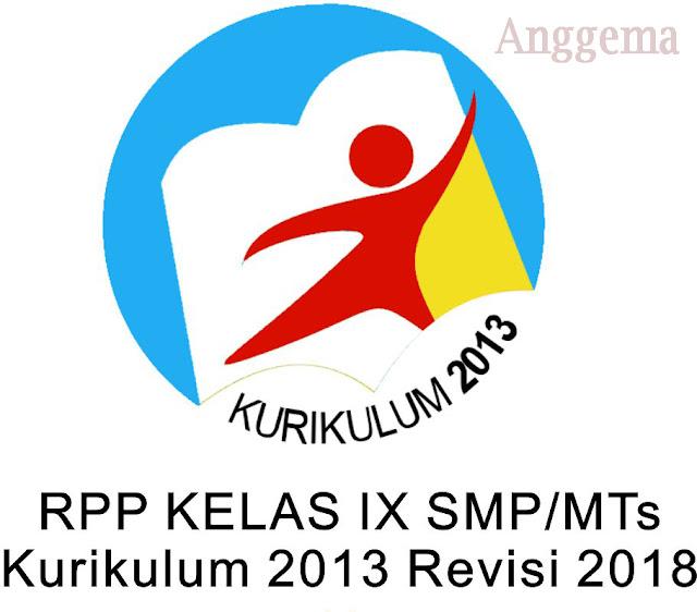 RPP kelas IX SMP/MTs Revisi 2018