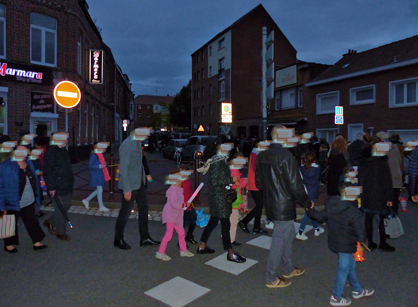Tourcoing Allumoirs 2019 - Cortège rue des Anges